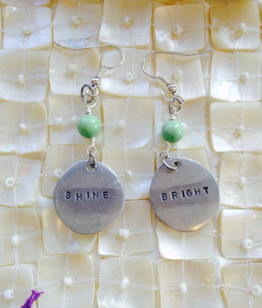 shine bright earrings