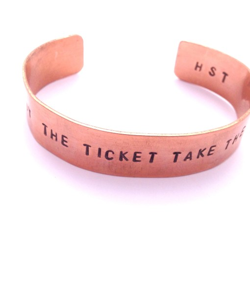 buy the ticket take the ride thick copper 103TC
